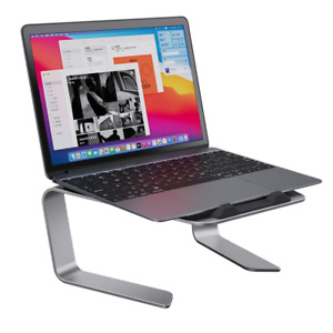 Laptop Stand,  Aluminum Computer Riser, Ergonomic Detachable Portable