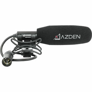 Azden SGM-250CX Professional Compact Cine Mic with XLR Pigtail Output