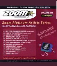 Zoom karaoke cdg platinum series 115 style council & paul weller 13 track