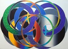 "Hiroshi Murata Japanese Color Lithograph titled ""Murasaki"""