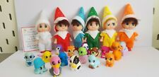 BABY-TODDLER ELF DOLL CHRISTMAS  TOY+FREE TINY ANIMAL OR TINY Doll  PROP+ Card