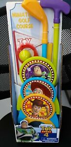 NEW Toy Story 4 Miniature Golf Course Toy ~ Indoor & Outdoor Fun