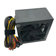 600 WATT 600W POWER SUPPLY PSU Brick for Intel AMD System Quiet 12CM Fan SATA