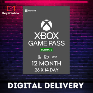 Xbox Live 12 Month Gold + Game Pass Ultimate + EA Access (26 x 14 Day ) GLOBAL