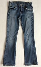 Citizens Of Humanity Low Waist Bootcut Jeans Size 27 The Rose #099 Stretch