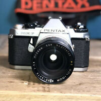 Pentax me F 35mm SLR Camera Great Condition Working Order With X2 Lens Lomo?