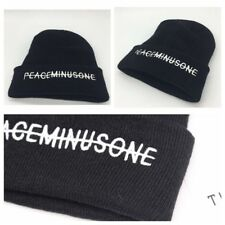 Kpop Bigbang GD G Dragon FXXK IT Peaceminusone Black Knit Hat Beanie Hat Unisex