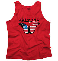 Arizona Original Butterfly America Souvenir Womens Tank Top Sleeveless T-Shirt