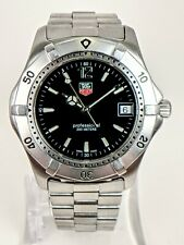 Tag Heuer Professional 2000 WK1110 Stainless Steel, Sapphire Crystal Watch