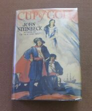 CUP OF GOLD by John Steinbeck - HCDJ 1936 covici friede 2nd/1st VG - mice men