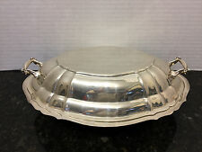 Gorgeous Gorham Sterling Silver Chippendale Covered Serving Dish Makes 2 Dishes