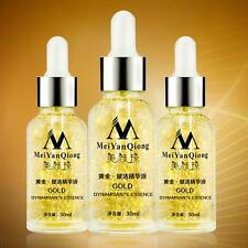 24K Gold Face Whiten Moisturizing Day Cream Hydrating Essence Serum Skin Care DA