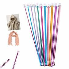 Long Tunisian Afghan Crochet Hooks Set 11 Packs 10.6