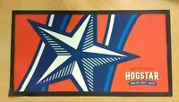 new hogstar beer lager home pub drink drip bar mat runner man cave *