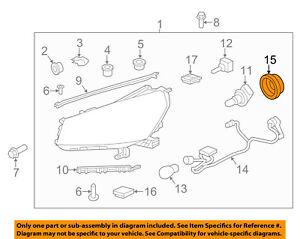 GM OEM-Headlight Headlamp Bulb Cap Cover 12335547