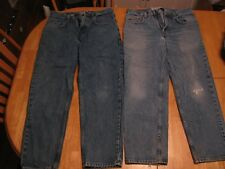 Lot of 2 MEN'S GAP JEANS 31 x 28 & 32 x 28 EASY FIT - Shipped The Same Day!