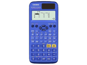 Calculadora - Casio FX-85 SP X II, Pantalla LCD, 293 funciones, Azul
