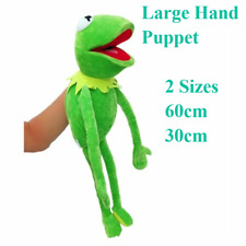 BIG Eden Full Body Kermit the Frog Hand Puppet Memes Soft Plush Toy Jim Henson