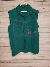 Karl Kani Jeans Vintage Streetwear Urban Embroidered Spellout Vest M /1849 used