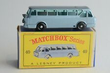 Matchbox Lesney No 40 Long Distance Coach - Made In England - Boxed - (B16)