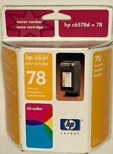 HP 78 Tri Color Genuine Ink cartridge for HP Deskjet Officejet Pro Printer OEM