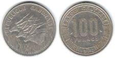 1 piece de 100 francs du Gabon 1972 ( 001 )