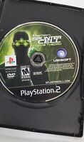 Tom Clancy's Splinter Cell Chaos Theory PlayStation 2 PS2 2005 Disk