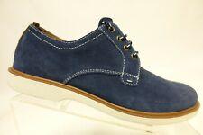 FLORSHEIM Suede Blue Sz 6 M Kids Pain-Toe Dress Shoe Oxfords