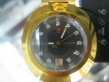 RADO DIASTAR WOMEN'S WATCH AUTOMATIC SAPPHIRE ALL S/S GOLD ORIGINAL R12413613