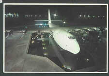 PPC* Spruce Goose At Night Largest Plane Ever Built Good Card Mint 4 X 6