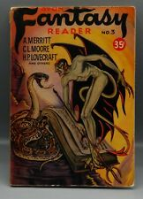 Vintage Avon Fantasy Reader Magazine Science Fiction Ray Bradbury Lovecraft !