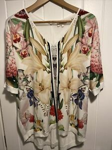Ted Baker Silk Top Size 3