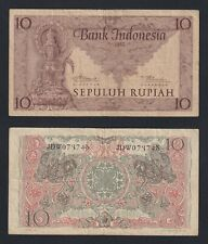 New listing Indonesia - 10 Rupiah 1952 Bb / Vf A-10