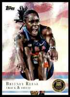 2012 TOPPS OLYMPICS GOLD BRITNEY REESE TRACK & FIELD #39 PARALLEL
