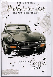 For Brother-in-law Birthday Card