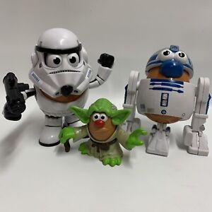 Mr Potato Head Star Wars Spud Trooper Mashter Yoda Artoo Potato R2D2 Mini Figure