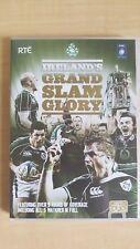 Ireland's Grand Slam Glory '09 [ 3 DVD Set ] Multi Region, FREE Next Day Post