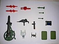 GI Joe 1985 ARAH Vintage FORWARD OBSERVATION UNIT Parts LOT Action Force Figure