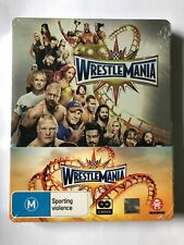 WWE - Wrestlemania 33 (2DISC Blu-ray 2017) steel book set - brand new sealed