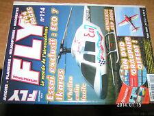 Fly n°114 Plan encarté Messerschmitt Me 163B 1A Komet / Staudacher Laser 200