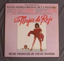 "Vinilo LP 12"" 33 rpm LA MUJER DE ROJO - STEVIE WONDER banda sonora pelicula"