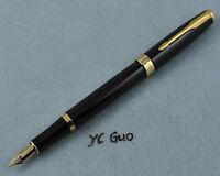 Baoer 388 Black Fountain Pen Fine Nib