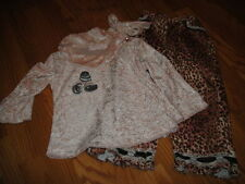 TRISH SCULLY 5 LEOPARD CHEETAH PANT TOP SET
