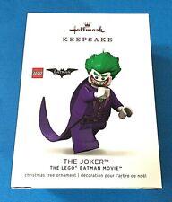 "Hallmark ""The Joker"" Lego Batman Ornament 2018"