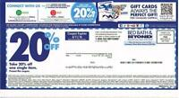 (5) BED BATH & BEYOND 20% OFF COUPONs EXPIRED