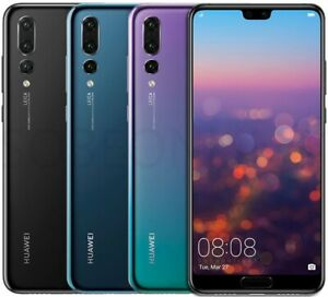 "Huawei P20 Pro Unlocked Smartphone  6.1"" 128GB 40Mp with Triple Camera"