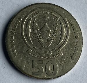 Rwanda 50 Francs 2003 (KM#26)