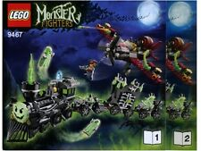 NEW INSTRUCTIONS ONLY LEGO GHOST TRAIN 9467 Monster Fighters books from set