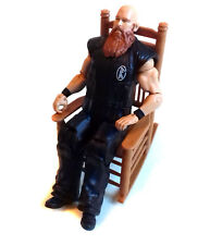 "WWF WWE Wrestling Eric Rowan 6"" toy action figure & chair by Mattel"