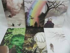 MUSHISHI The Cure Lie In The Curse 8 Postcard Collection Japanese Anime
